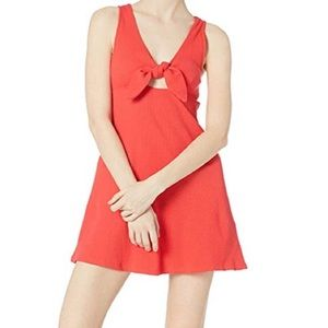 New! Billabong knot front skater fit n flare dress